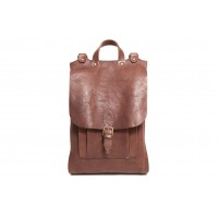 Houston - F1252 - Natural Leather Backpack
