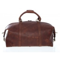 "Twain - L1043 - 22"" Leather Duffel"
