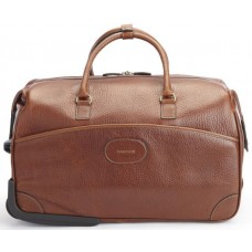 Edison - L1204 - Leather Wheeled Duffel