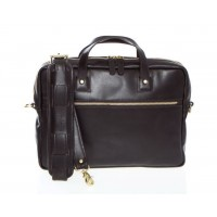 Lux Wesley - Z1238 - Slim Leather Briefcase